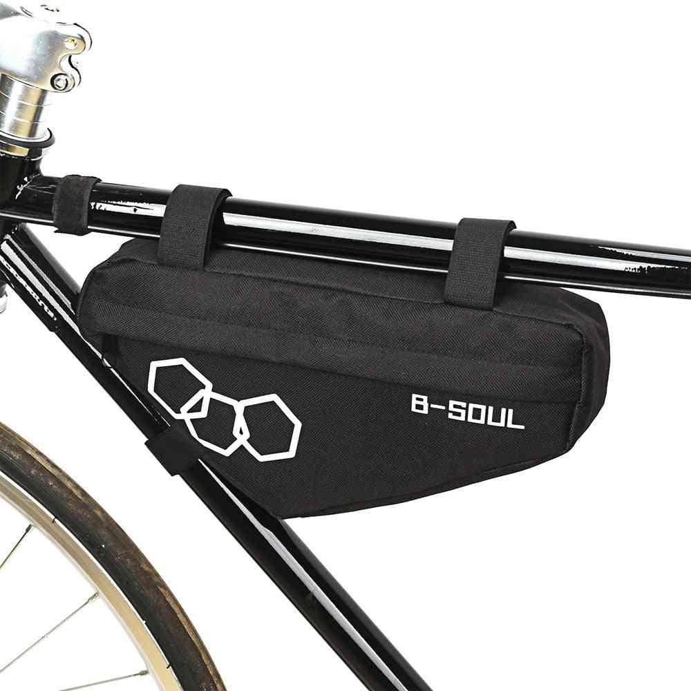 Bike Triangle Pouch Frame Holder Saddle Bag