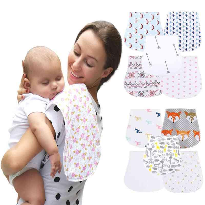 Newborns Baby Cotton Two Layers Bibs