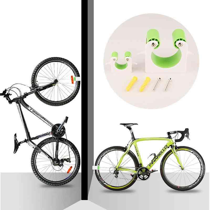 Portable Bicycle Wall Mount Hook Road Bike Parking Buckle