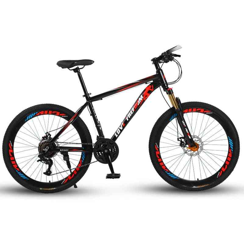 Love Freedom 24 Speed Mountain Double Disc Brakes Bicycles