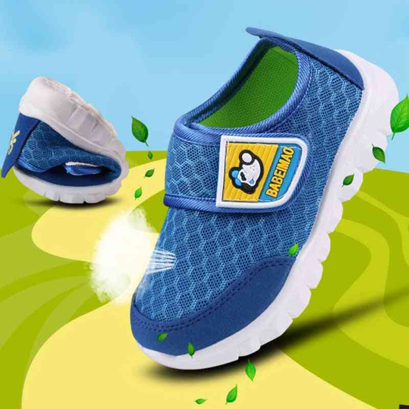 Children Cute Net Breathable Shoes