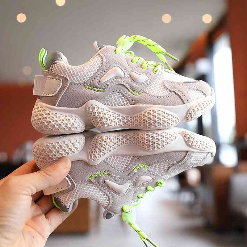 Autumn New Kids Sports Shoes. Breathable Casual Sneakers