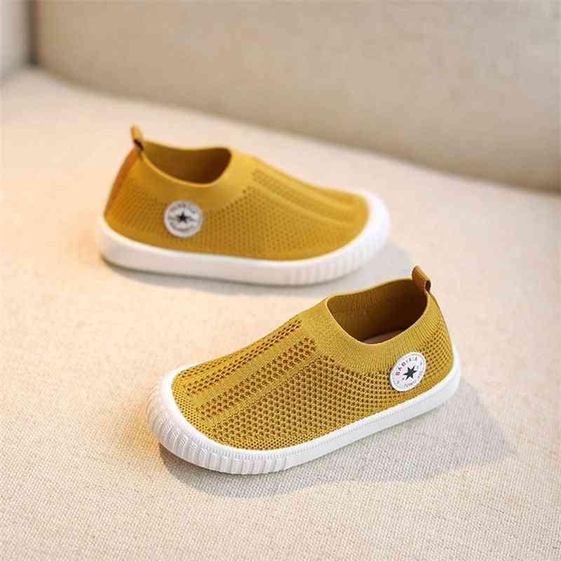 Unisex Breathable Mesh Fabric Toddler Casual Sneakers