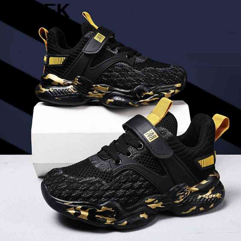 Spring Autumn Kids Shoes, Fashion Mesh Casual Sneakers