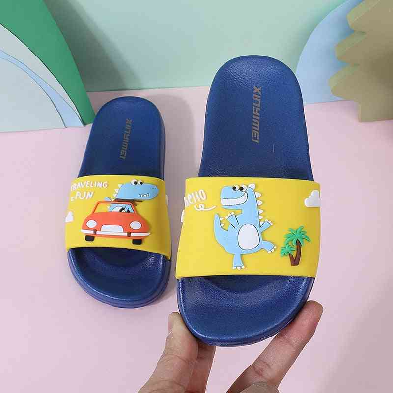 Summer's Slippers, Dinosaur Flip Flops Sandals
