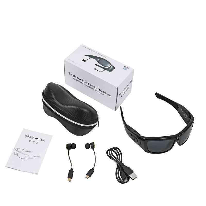 Mini Bluetooth Headset Sports Video Recorder Polarized Lens Camera Sun Glass