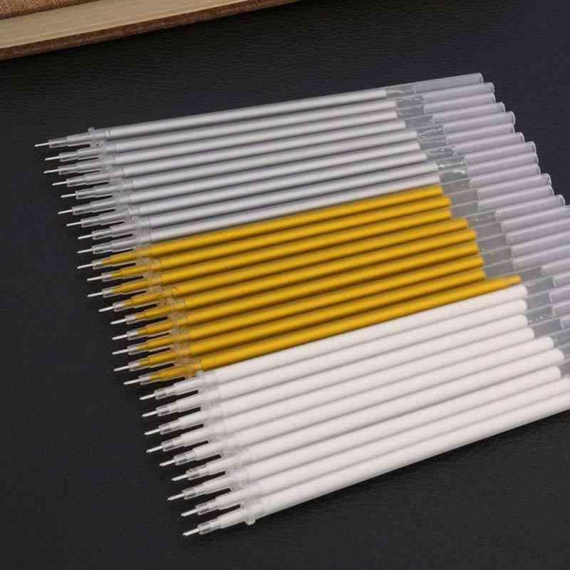 White Ink Refills Photo Album, Waterproof Gel Cute Pen