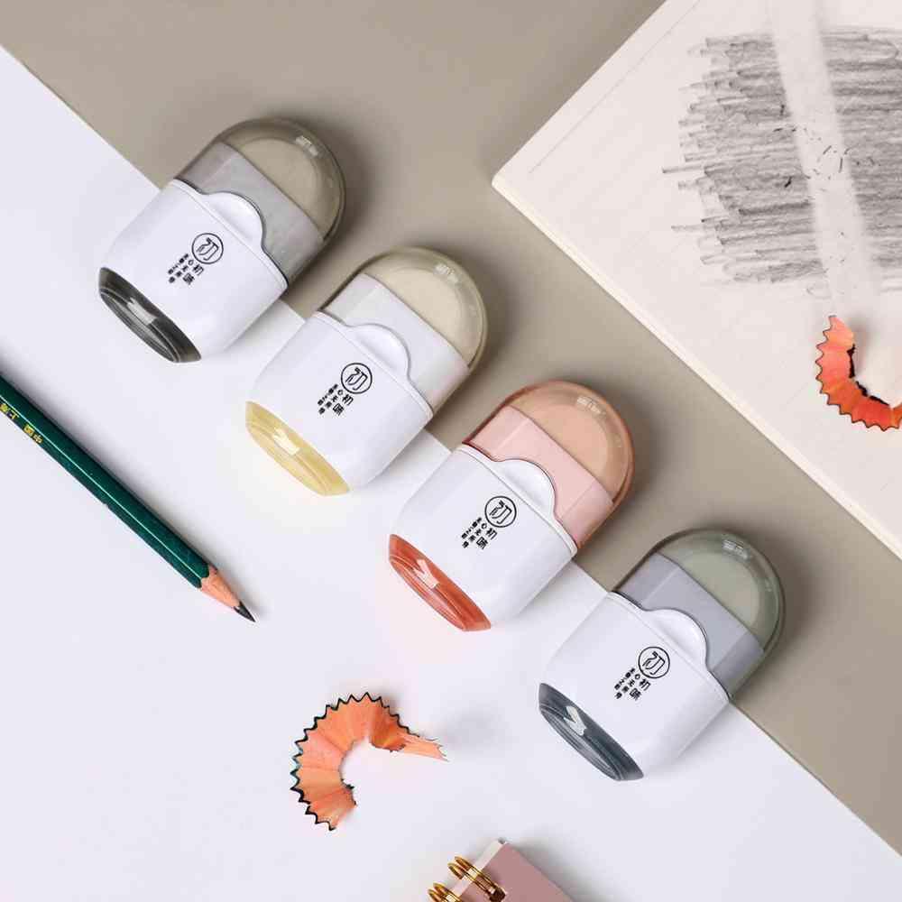 Multifunctional Creative Single Hole Pencil Sharpener Eraser