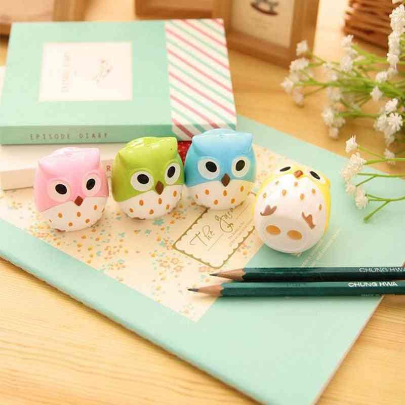 Owl Plastic Pencil Sharpener