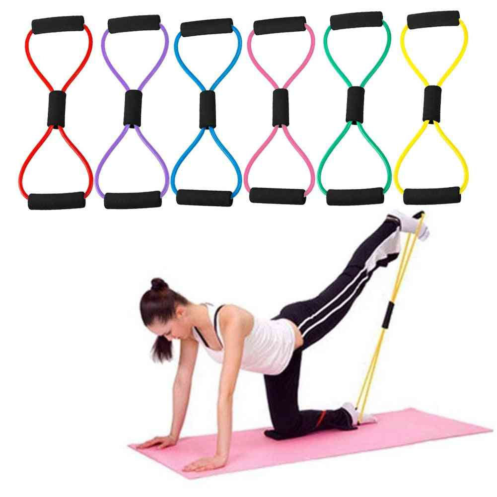 Rope Sports Exercise Workout Equipment 8 Word Rubber