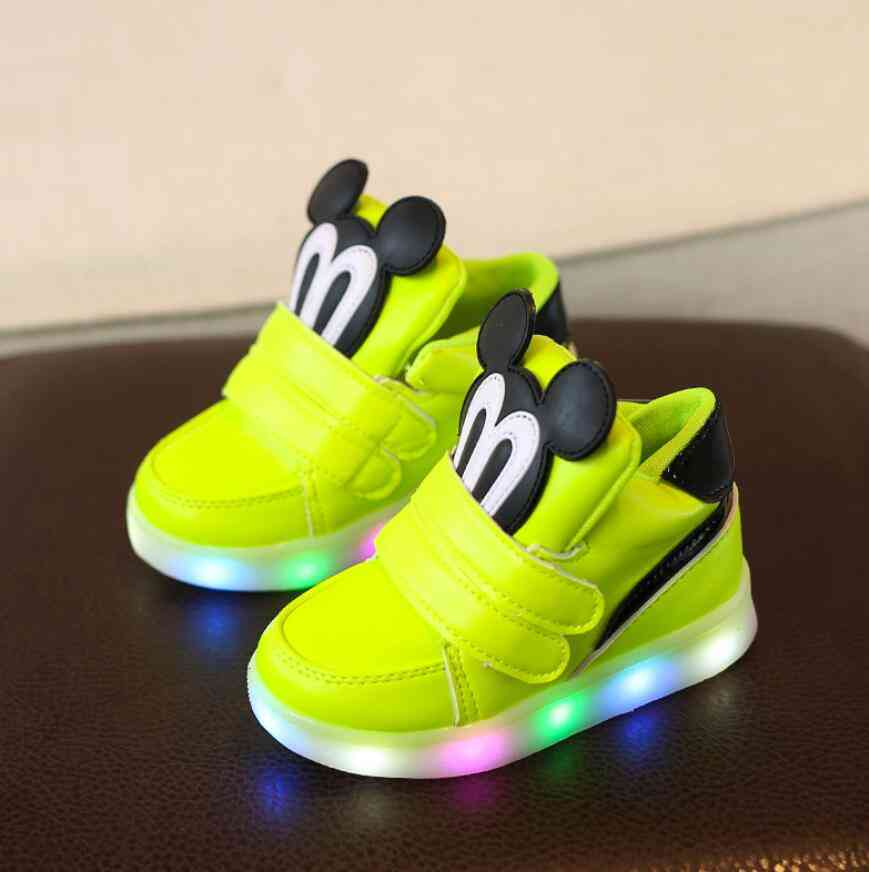 Children's Casual Shoes. Led Sneakers