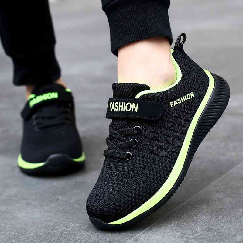 Fashion Kids Sport Shoes, Breathable Mesh Casual Sneakers
