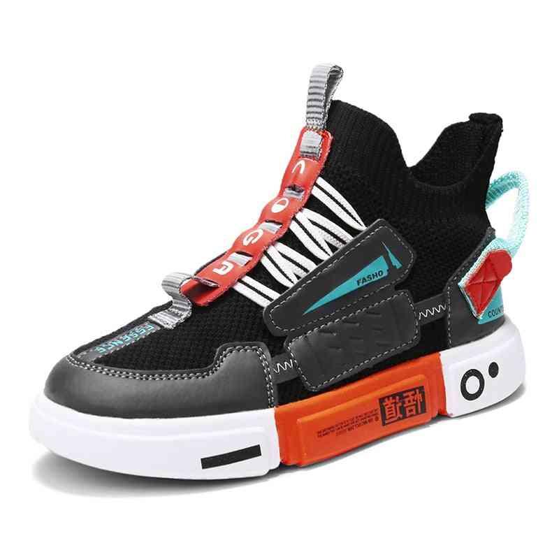 Autumn Kids Sport Shoes, Boy Breathable Casual Shoes