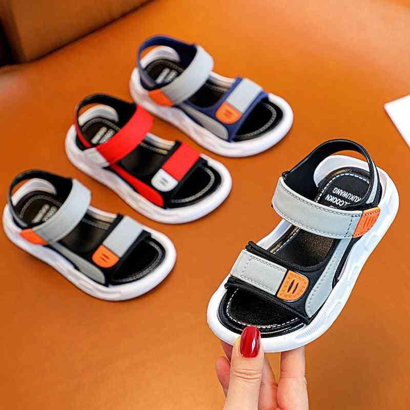 Children's Baotou Sandals, Non-slip Soft Bottom Beach Shoes