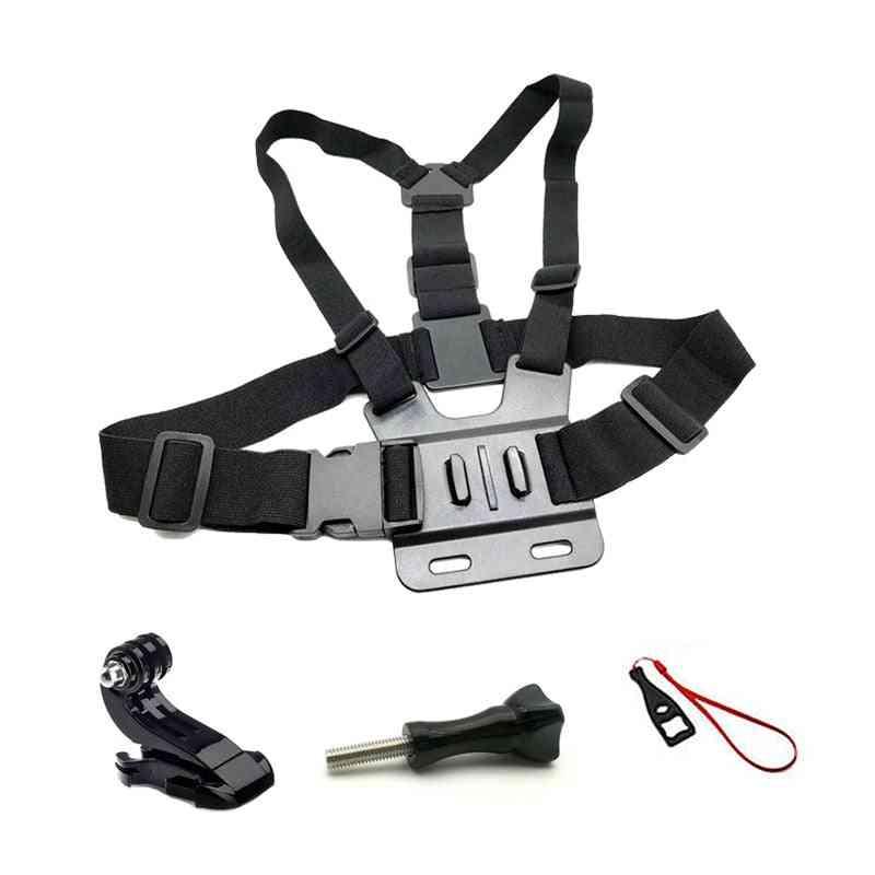 Straps Mount Action Camera Chest Belt Session Kit