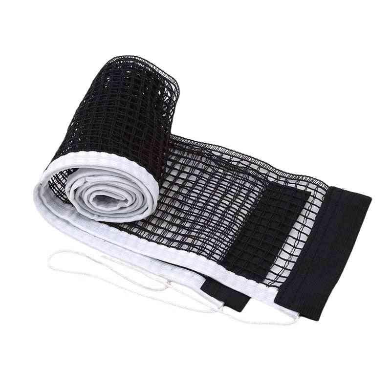 Table Tennis Table Plastic Strong Mesh Net Portable