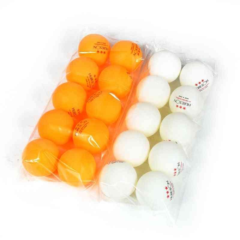 Huieson New Abs Plastic Table Tennis Balls 3