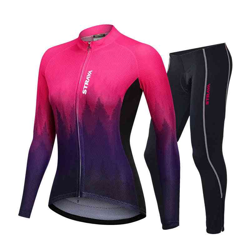 Strava Bike Long Suit Tight Quick-drying Cycling Jerseys.
