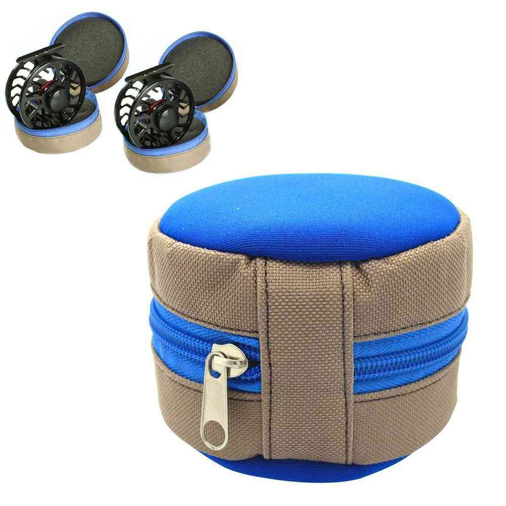 Outdoor Portable Fly Fishing Reel Zipper Storage Pouch