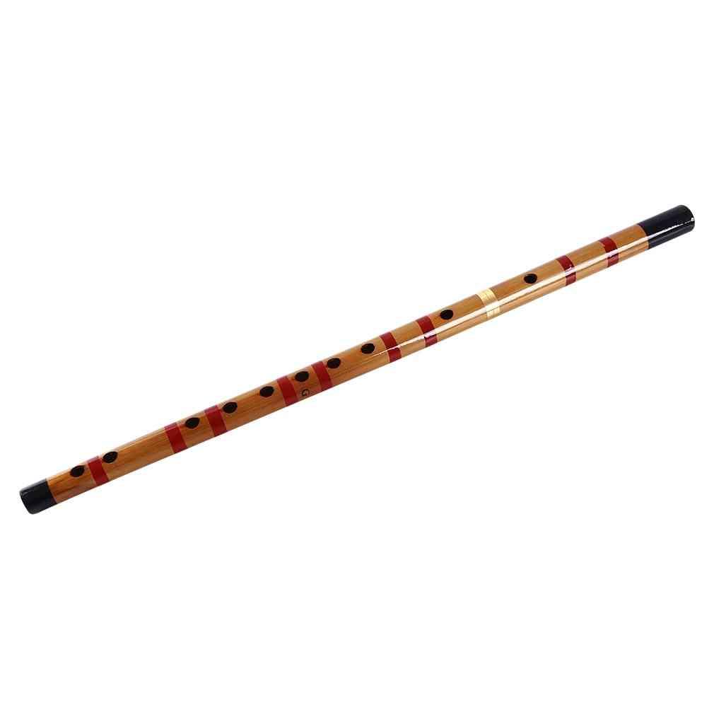 Bamboo Woodwind Flutes Musical Instruments F Key Chinese Dizi Transversal Flauta