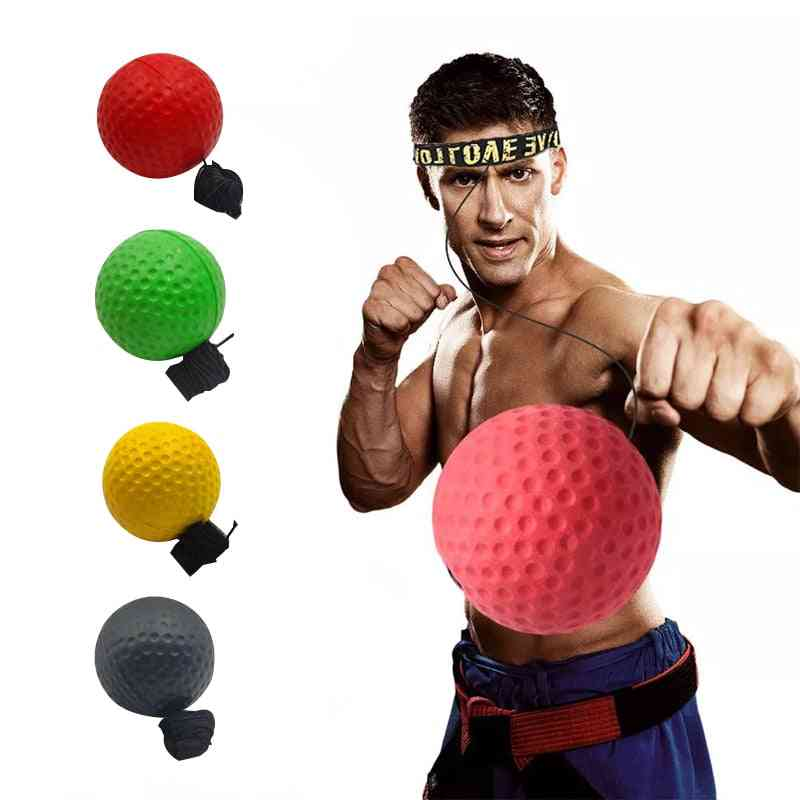 Boxing Speed Ball Head-mounted Pu Punch Ball