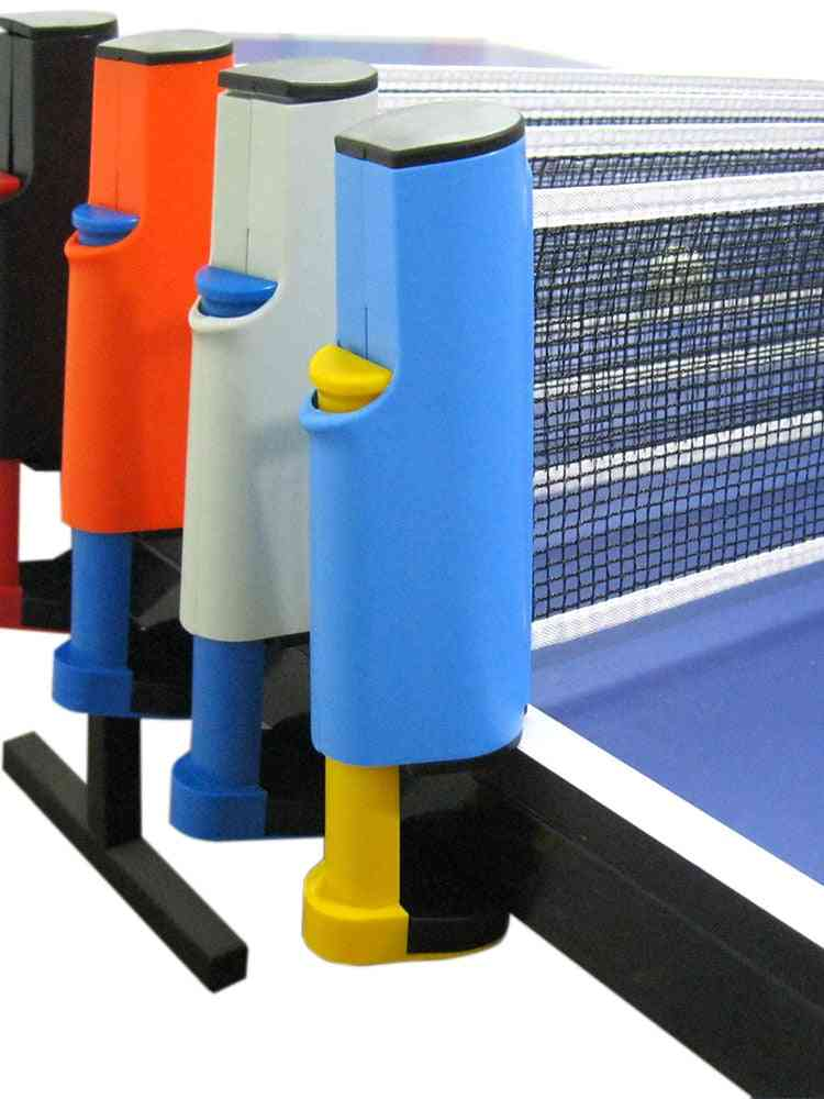 Non Slip Table Tennis Net Replacement With Stand Firm Clamp .