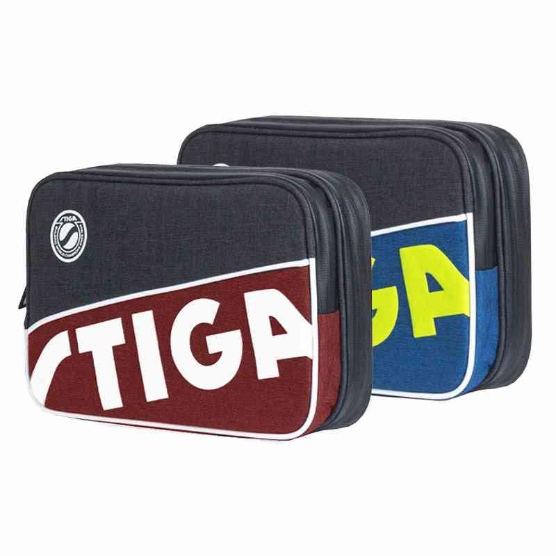 Stiga Table Tennis Rackets Bag New Double Layer
