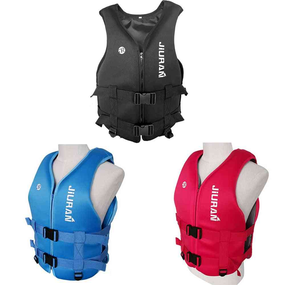 Life Jacket Adult Kids Life Vest Water Sports Fishing Swimming Surfing