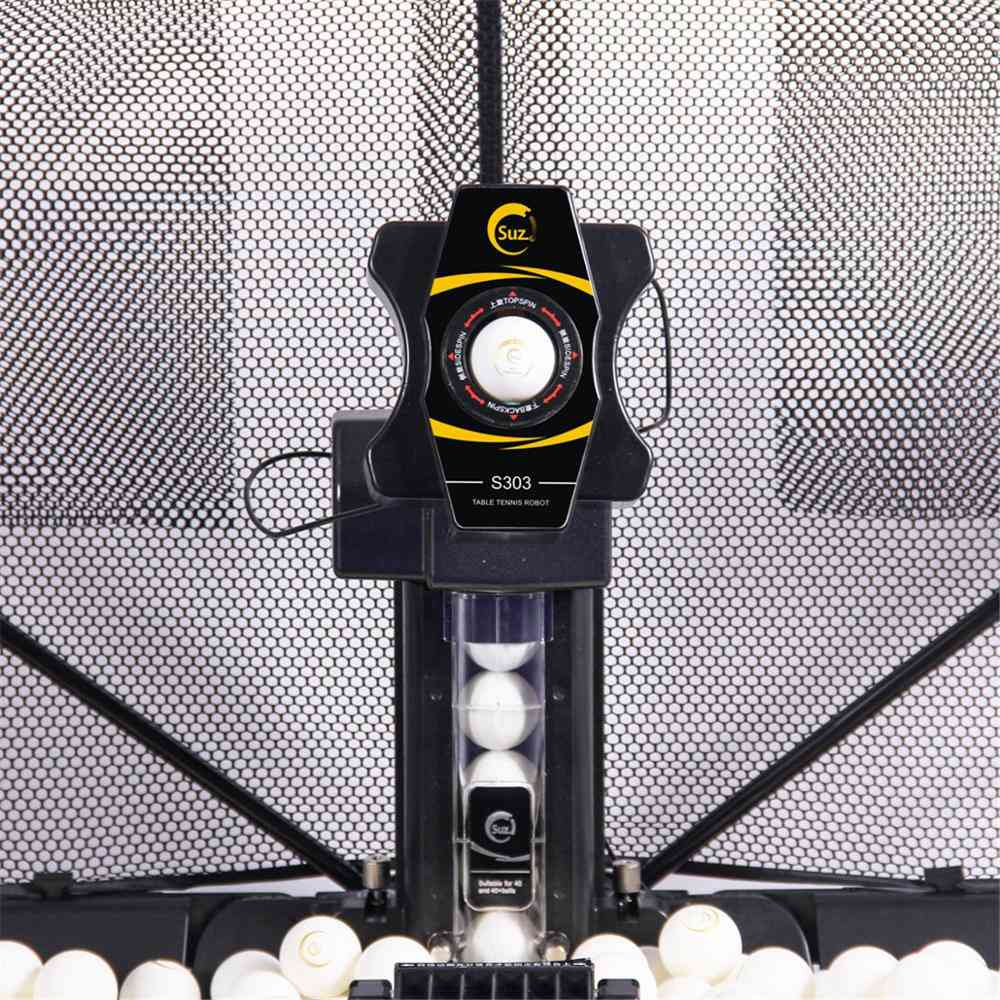 Wireless Remote Control Table Tennis Ball Machine