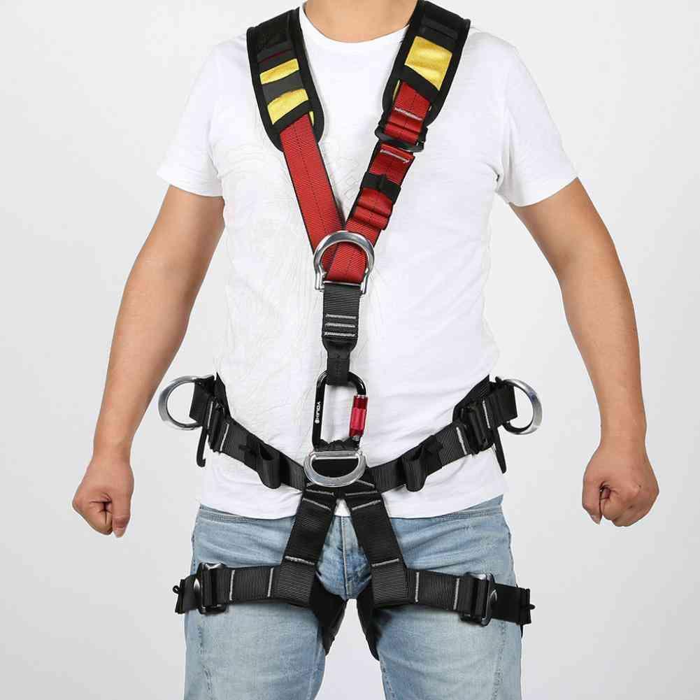 Outdoor Rock Climbing Aerial Work Rappelling Shoulder Safety Belt