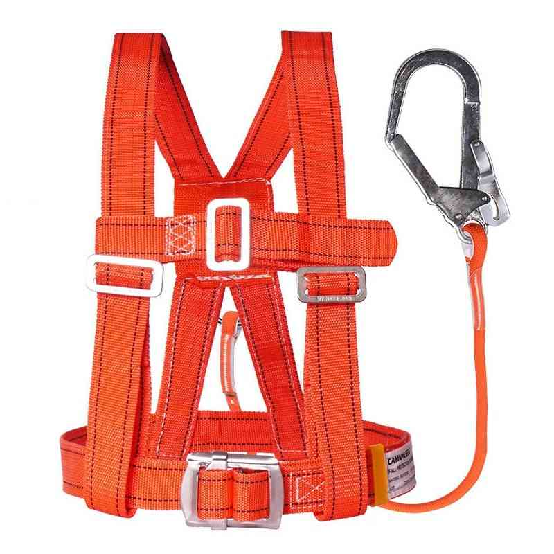 Construction Lanyard Protective Survival Fall Belt With Hook Rope