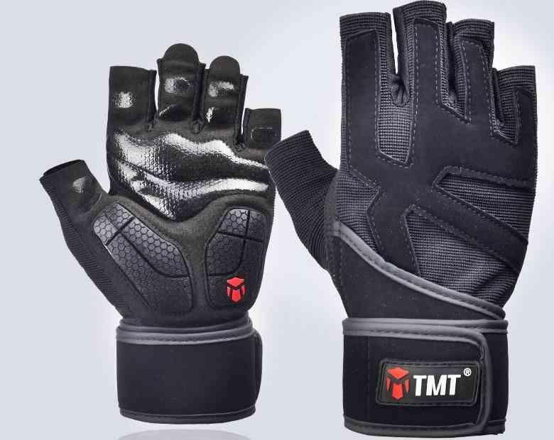 Tmt Gym Half Finger Gloves.