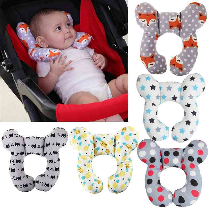 Protective Travel Car Seat, Head, Soft Neck Support Pillow