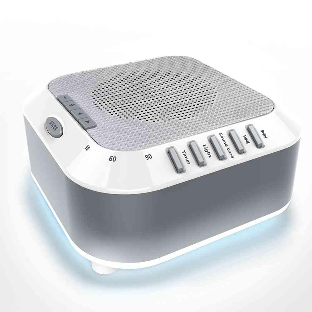 Noise Machine Usb Timed Shutdown Baby  Sleep Sound Machine For Relaxation