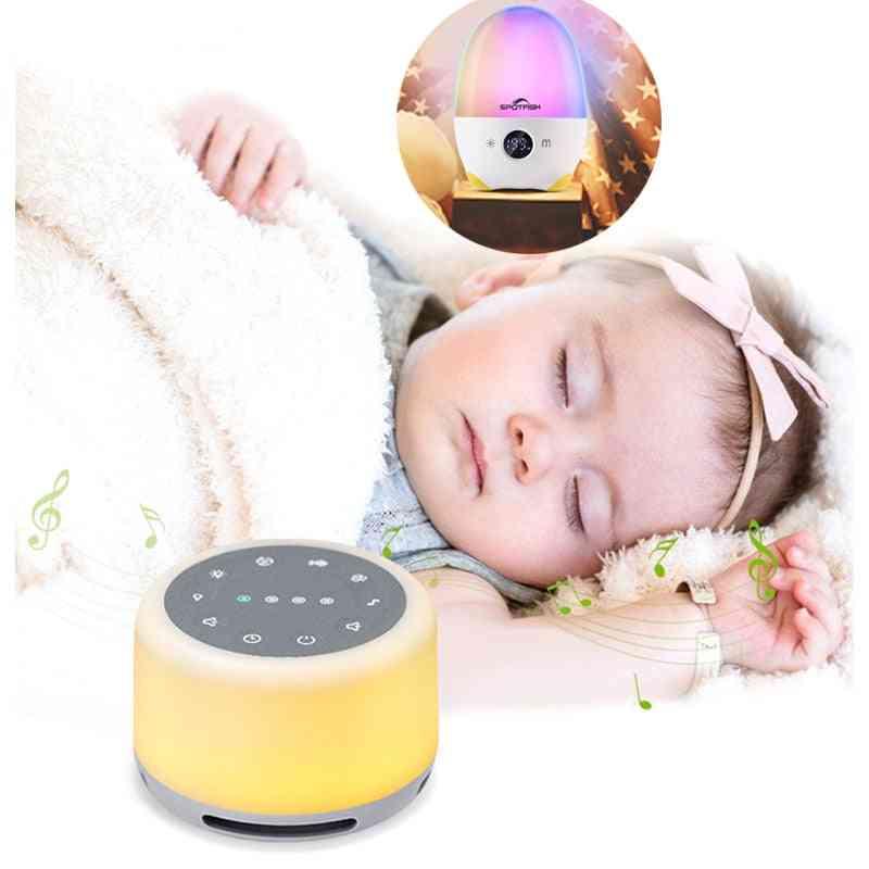 White Noise Sound Machine Mood Light Natural Sounds