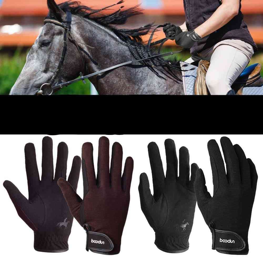 Professional Riding Gloves Equestrian Horse Riding Gloves