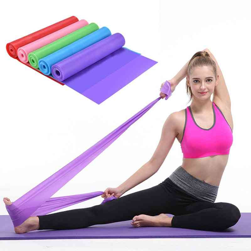 Stretch Exercise Fitness Band Training Elastic Exercise Fitness Rubber