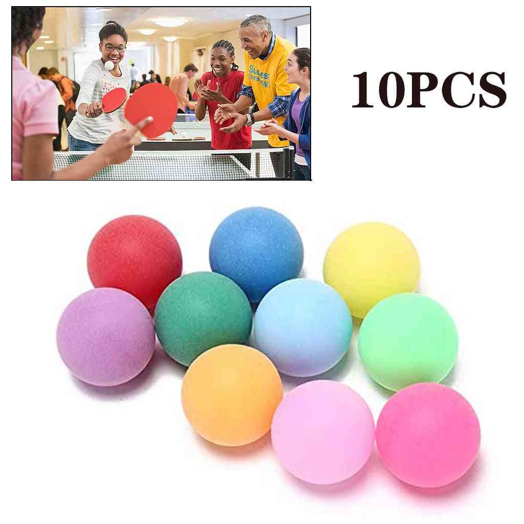 40mm 2.4g  Entertainment Table Tennis Balls Mixed Colors For Lottery  Game