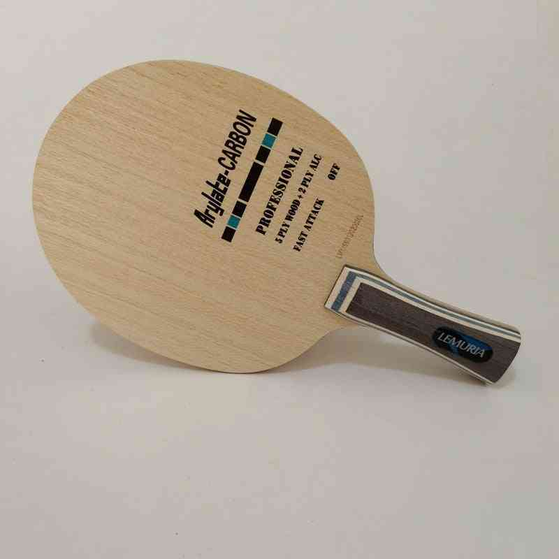 Lemuria Vis Arylate Carbon Fiber Table Tennis Blade