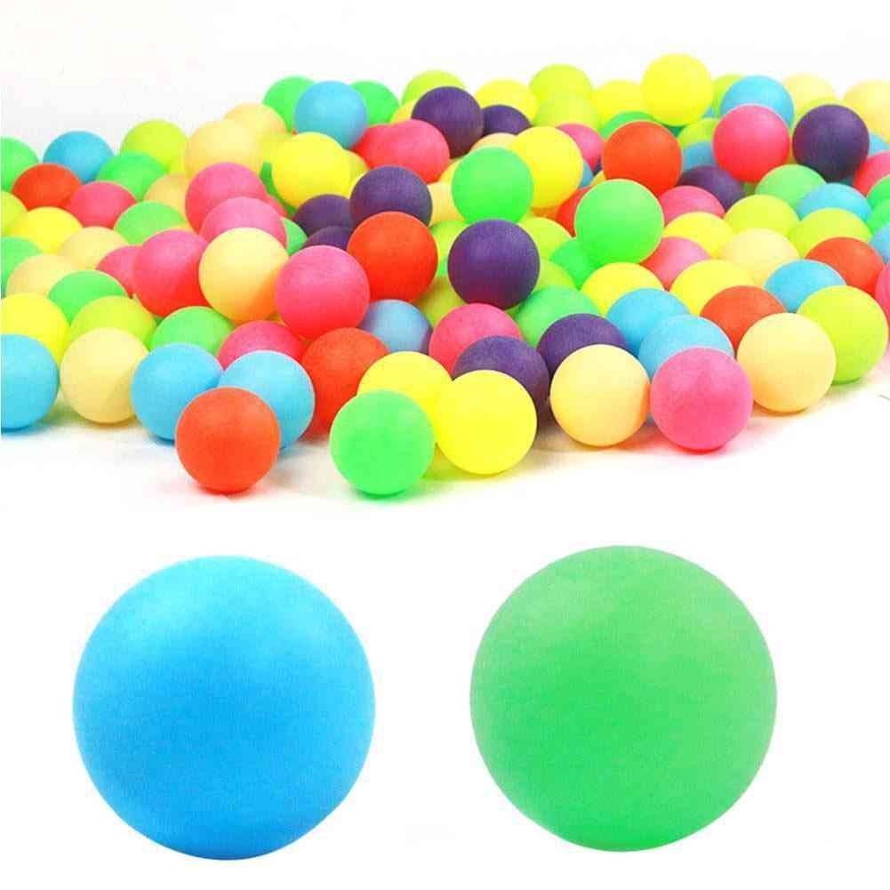 40mm Entertainment Table Tennis Balls For Game And Activity Color