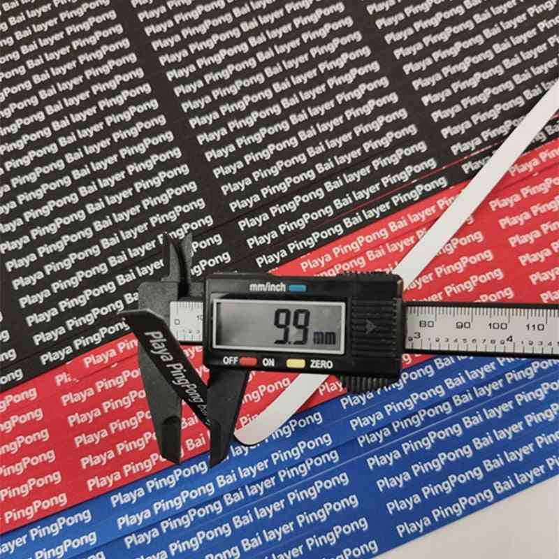10mm-wide Professional Table Tennis Racket Edge Protection Sponge Tape