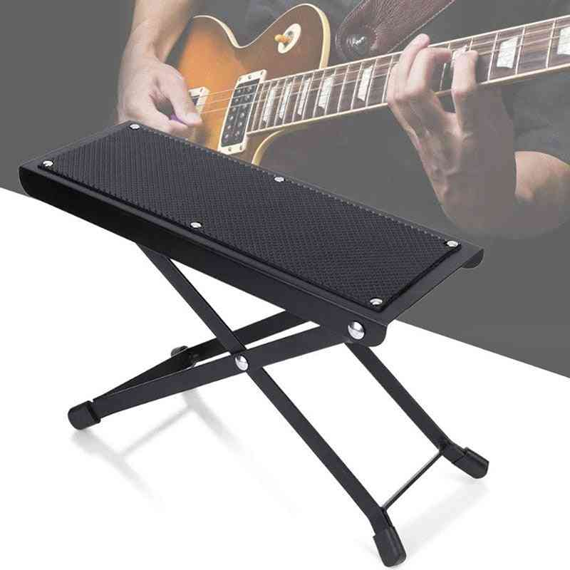 Guitar Pedal Support Utility With Adjustable Height