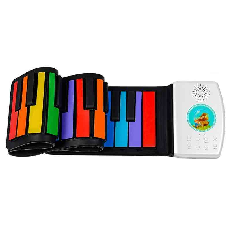 Digital Keyboard Flexible Roll Up Piano