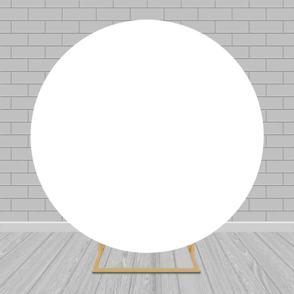 Round Backdrop Circle Background Covers