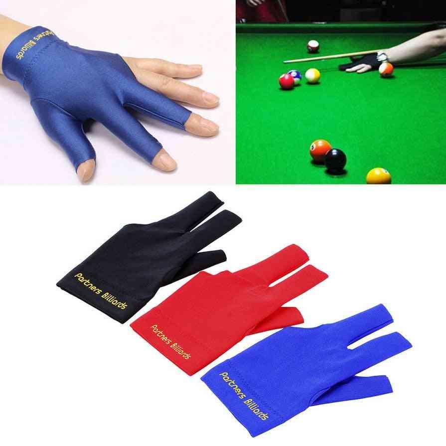 Snooker Cue Glove Pool Left Hand