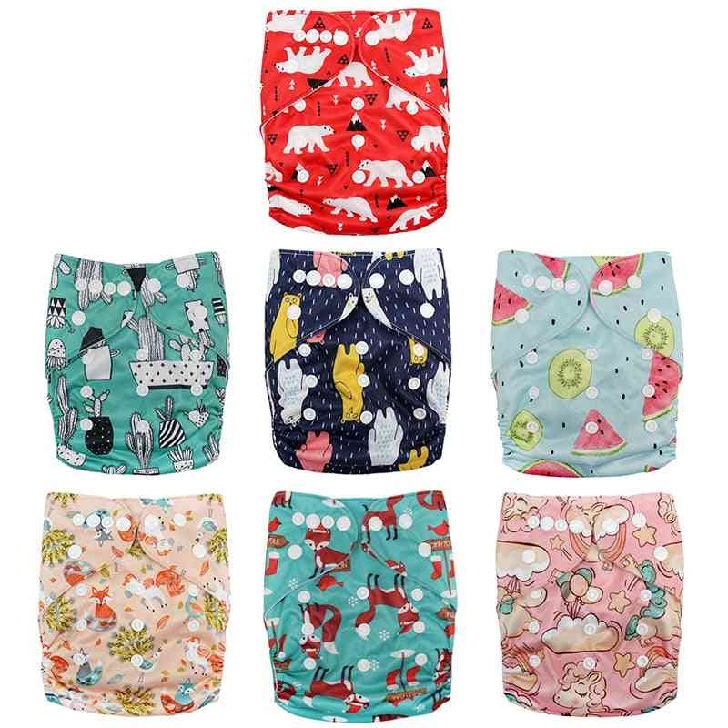Baby Real Cloth Pocket Nappy Diaper Cover Wrap Suits Birth To Potty