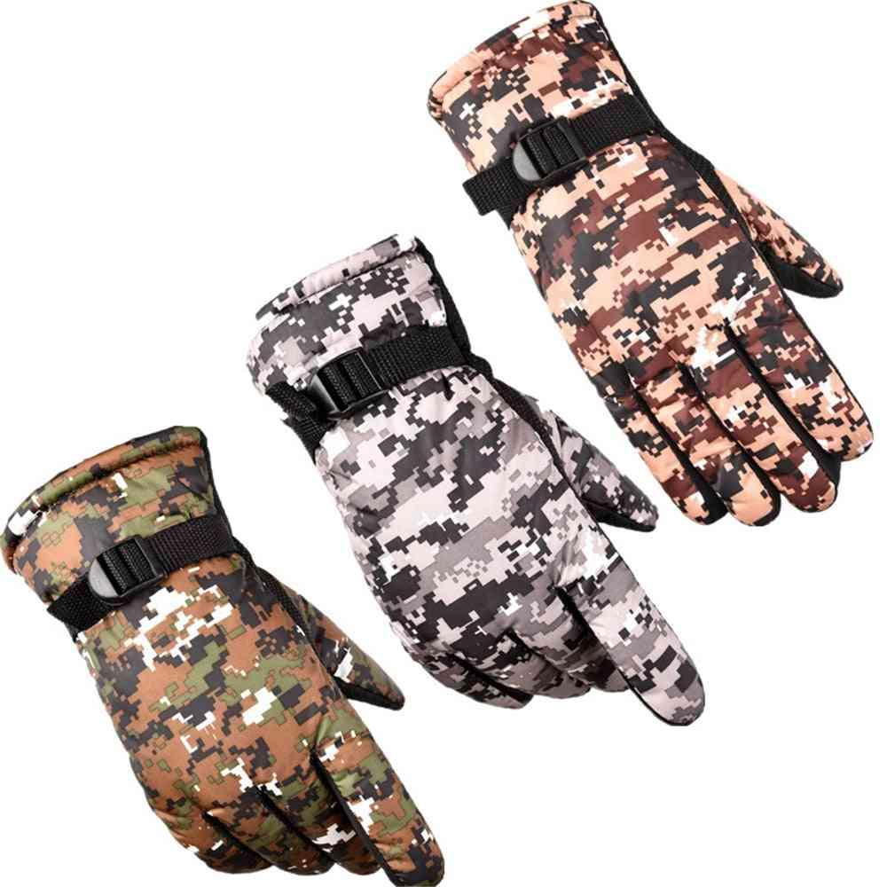 Tactical Military Men Anti-slip Waterproof Thermal Heated Gloves