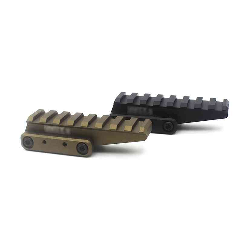 Tactical Riser Mount For Eotech Exps3 Uh1 Lco And Other Red Dot Sight