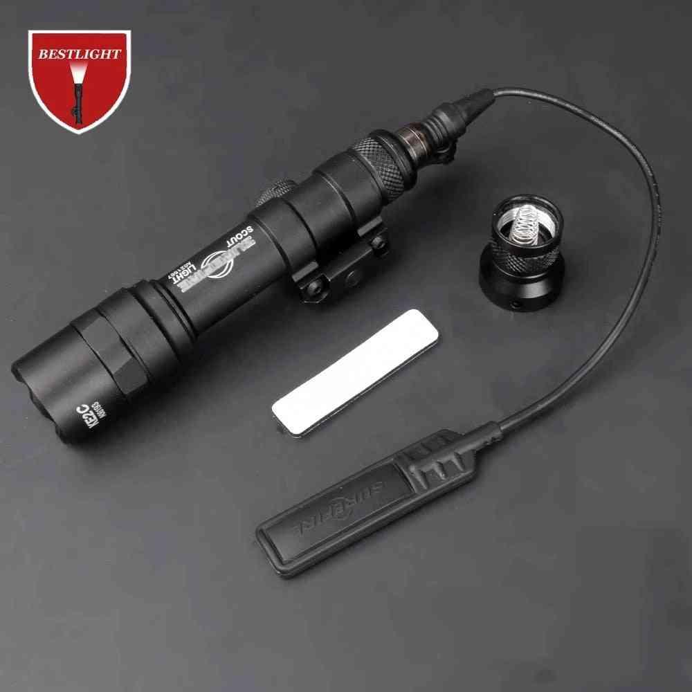 Sf M600 M600b Scout Light Tactical Led Mini Flashlight 20mm Weapon Light