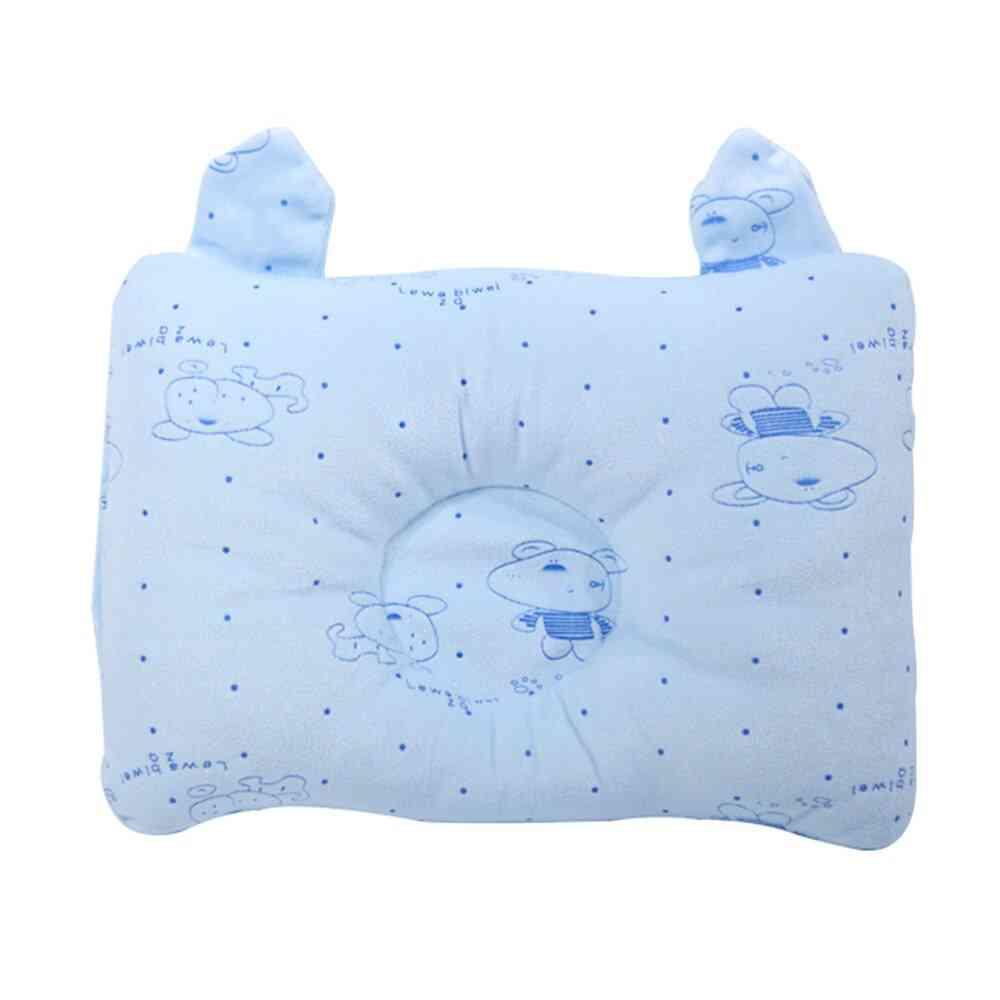 Baby Pillow Newborn Sleep Support Velvet Pillow
